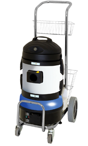 wet-dry vacuum cleaning machine, ideal for bedbug control